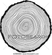 tree rings art images Clipart of vector conceptual background with tree rings k23883663 jpg