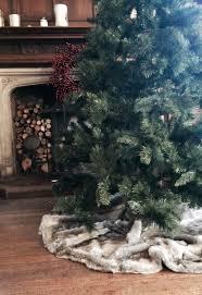 faux fur tree skirt luxurious circular faux fur tree skirt copeland interiors