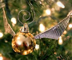 this harry potter golden snitch tree decoration is the