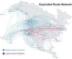 Dallas Terminal Map by Alaska Airlines Buys Virgin America Airways Magazine