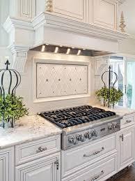 tile backsplash ideas for kitchen white kitchen backsplash stunning kitchen boasts white cabinets