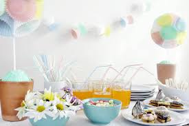 Baby Shower Table Setup by Active Baby Shower Games