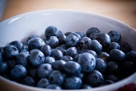 martini blueberry beeriger blaubeer martini mit eiskristallen
