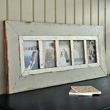 grey wooden multi photo frame primrose u0026 plum diseño interior