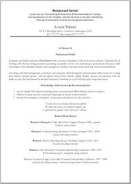 cover letter objective for resume server good objective for resume