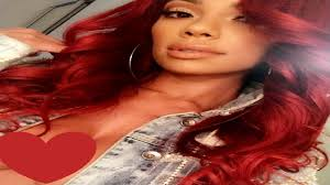 what color is cyn santana new hair color erica mena red hair color was inspired by hot hair stylist angie