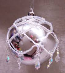 ideas and inspirations beaded christmas ornament cover