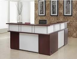 Double Reception Desk by Home Reception Desks Central Reception Desk Linea Reception Desks