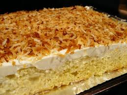 a cake fit for a reyna coconut tres leches braise boil bake