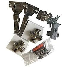 kitchen cupboard door hinge repair kit b q b q salice hinge pack a clip on for framed in frame or