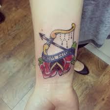 56 finest arrow tattoos on wrist