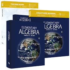 elementary algebra curriculum pack