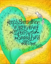 you met the singing bird corfee