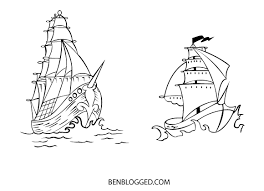 tribal pirate ship tattoo stencil photo 2 photo pictures and