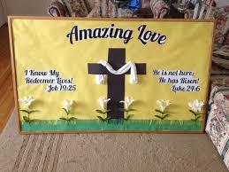 Pinterest Religious Easter Decorations by 38 Best Bulletin Boards Images On Pinterest Christian Bulletin
