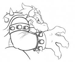 8 bowser coloring page coloring home