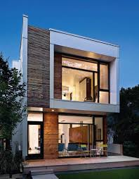 small lot modern house design decor image with breathtaking small