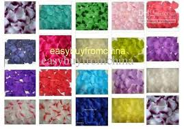 where can i buy petals 1bag high density silk petals flowers confetti wedding table