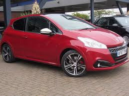 peugeot 208 gti 2016 used peugeot 208 gti prestige for sale motors co uk