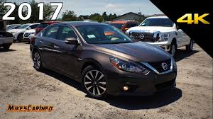 nissan altima full size 2017 nissan altima 2 5 sl detailed look in 4k youtube