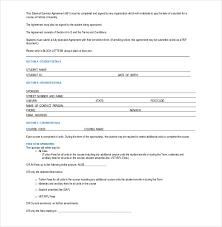 Sponsorship Agreement Template 15 sponsorship agreement templates free sle exle format