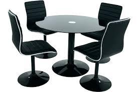 table ronde et chaises table ronde avec chaise table ronde avec chaise encastrable pas cher