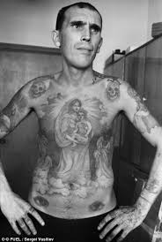 symbols of a of crime the fading tattoos on russia s