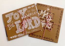 super quick and easy handmade christmas cards and tags craftfoxes