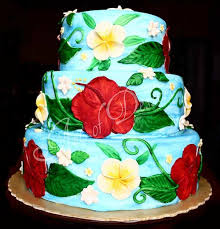 theme wedding cakes tropical hawaiian theme cake designs