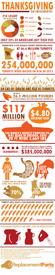 showing us the numbers of thanksgiving infographic