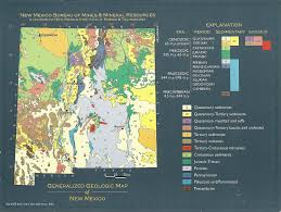 Map Of Nm Geologic Map Of New Mexico You Can See A Map Of Many Places On