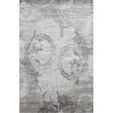 White Modern Rug Taupe And Grey Area Rug Wayfair