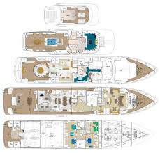 yacht floor plans layout image gallery luxury yacht browser by charterworld