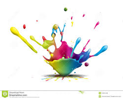 colors splash splash royalty free stock photos image 34601338