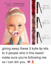 Meme Cosmetics - cosmetics by kylie jenner mary jo k lip kit by kylie jenner dolce k