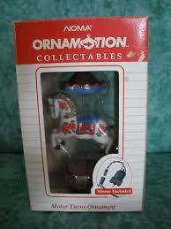 noma ornamotion rotating ornament carousel new