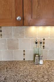 Travertine Backsplash Kitchen Yahoo Image Search Results - Square tile backsplash