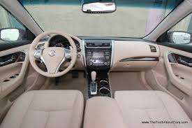 Nissan Altima V6 - 2013 nissan altima 3 5 sl interior dashboard picture courtesy