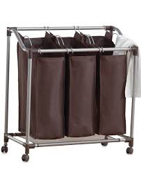 3 Section Laundry Hamper by Bathroom Exciting Clothes Storage Design In Laundry Room With