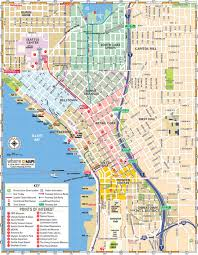 seattle map map of downtown seattle interactive and printable maps