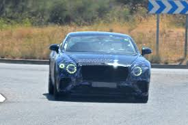 bentley dark green spyshots 2018 bentley continental gt reveals production intakes