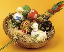 beautiful easter baskets 1280x1024 easter basket craft lovely easter gift basket 21