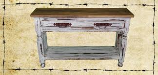Distressed Sofa Table by Red Distressed Sofa Table Tehranmix Decoration