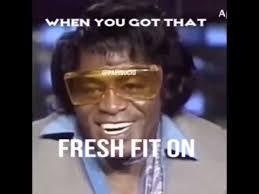 James Brown Meme - james brown drunk vine look good smell good make love good youtube