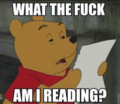 The Fuck Memes - what the fuck am i reading winnie the pooh know your meme