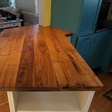 Chestnut Kitchen Cabinets Longleaf Lumber Reclaimed Chestnut Countertop