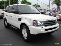 white wrapped range rover 2007 land rover range rover sport specs and photos strongauto