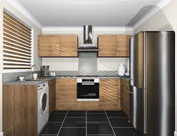 washing machine in kitchen design incredible modern u shape kitchen with white kitchen cabinets and