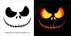 free scary halloween pumpkin carving patterns stencils u0026 ideas