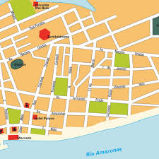 city map of brazil map parintins brazil maps and directions at map